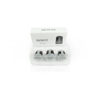 Cartouches Minifit Justfog (X3)